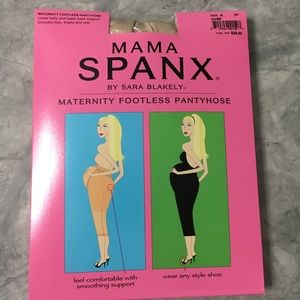 Spanx maternity footless pantyhose